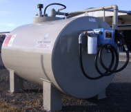 3000L Double Skinned Diesel Storage Tank