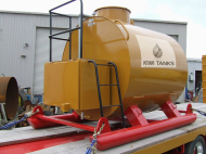 5000L Double Skinned Diesel Storage Tank
