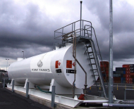 50,000L Double Skinned Jet A1 Storage Tank
