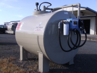 3000L On Ground Diesel Storage Tank